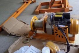 室外吊运机组装支架安装教程