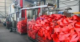 合成纤维吊装带染色机如何给织带上色