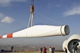 合成纤维吊装带在风里发电行业大展拳脚