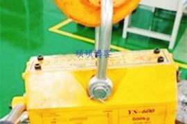 永磁起重器用于消防主水管安装