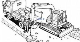 挖掘机吊装石头:石头滚落砸死作业工人