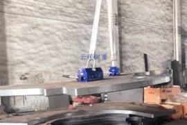 起重磁力吸盘非晶铁芯吊运方案