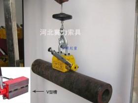 永磁吸盘建筑管材吊装得心应手