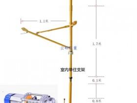 楼房小吊机吊装桶装水案例