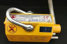 钢板永磁吸盘在码头中吊钢板发挥的作用