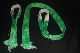吊装带如何分辨是被棱角割断还是超载拉断
