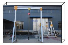 500公斤轻型铝合金移动龙门架