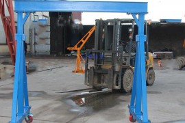 2吨拆卸式小型龙门架