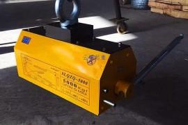 激光拼焊接用起重磁力吸盘工装改进方案