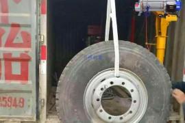 告别手工搬运,保定多功能提升机助力轮胎搬运