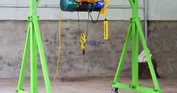 建筑用电动龙门吊升降机