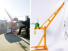 楼房小吊机安装与组装步骤