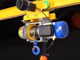 多功能提升机安装手推跑车客户案例