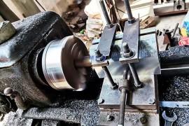 起重磁力吸盘生产现场工艺流程