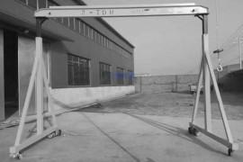 小型龙门架使用前安全试验操作
