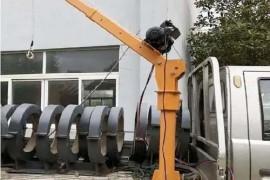 车载吊机在使用过程之中受到撞击怎么办?