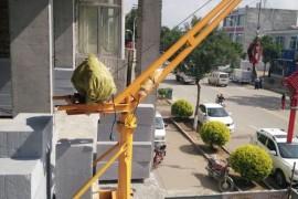 小型吊运机高空作业一定要注意安全