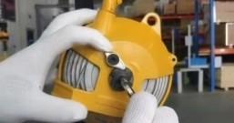 弹簧平衡器如何调节拉力的大小(手把手视频讲解)