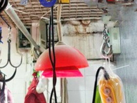 多功能电动提升机用来厨房吊运蔬菜