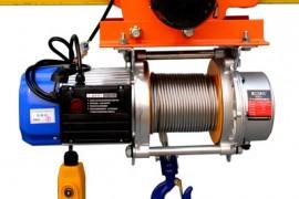 小型电动提升机与电动小跑车一体安装方法