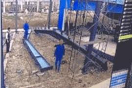吊装带起重吊装碰撞高空作业工人坠亡