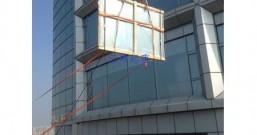 门窗吊机帮助客户解决大玻璃吊装难题