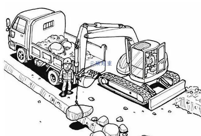 石头滚落砸死作业工人
