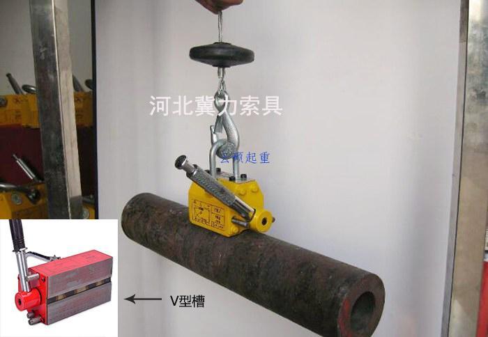 永磁吸盘建筑管材吊装高效便捷
