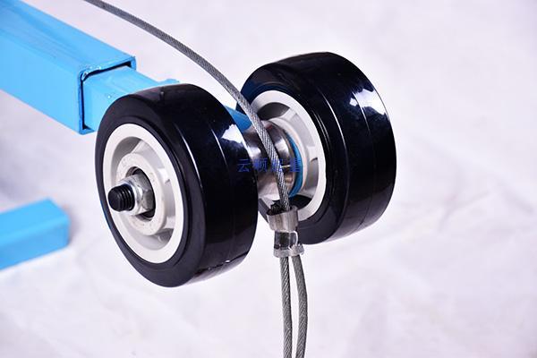 300/400公斤离合器吊玻璃专用吊机第4张-云硕起重