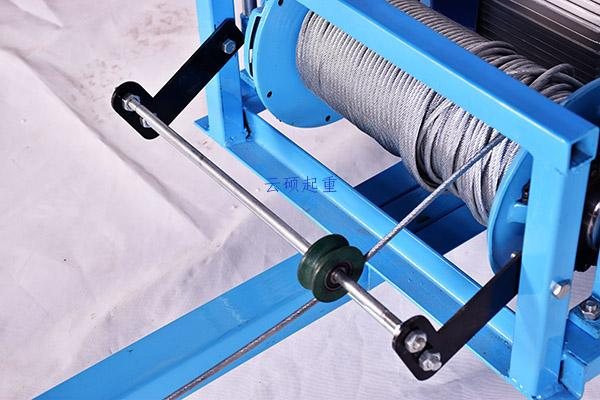 300/400公斤离合器吊玻璃专用吊机第5张-云硕起重