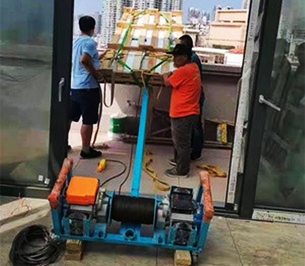 门窗吊机使用现场