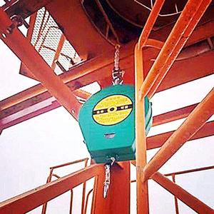 上下塔吊防坠器安装位置