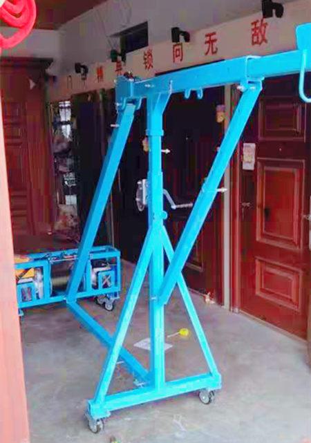 移动直臂式吊窗机